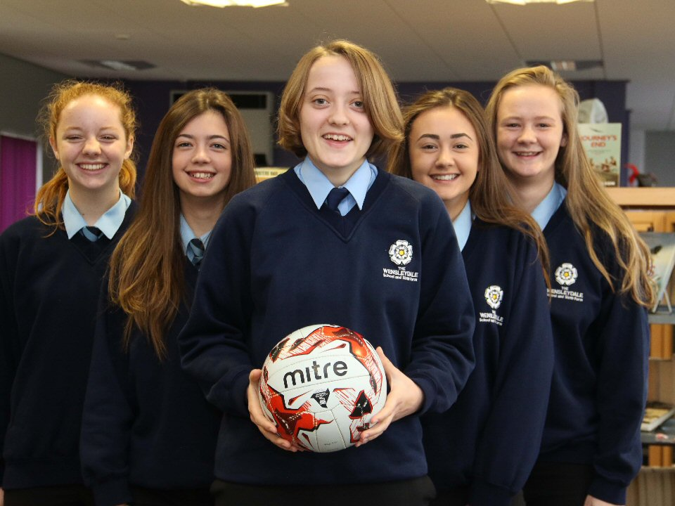 Sporting students are selected for the area squad