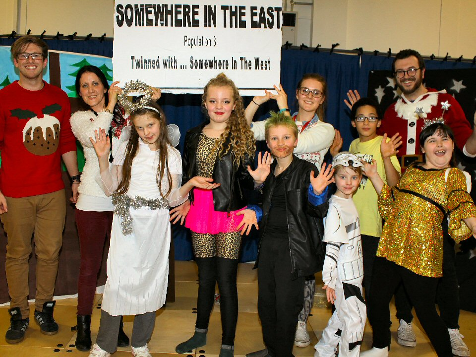 Nativity Rocks at seasonal song and dance spectacular