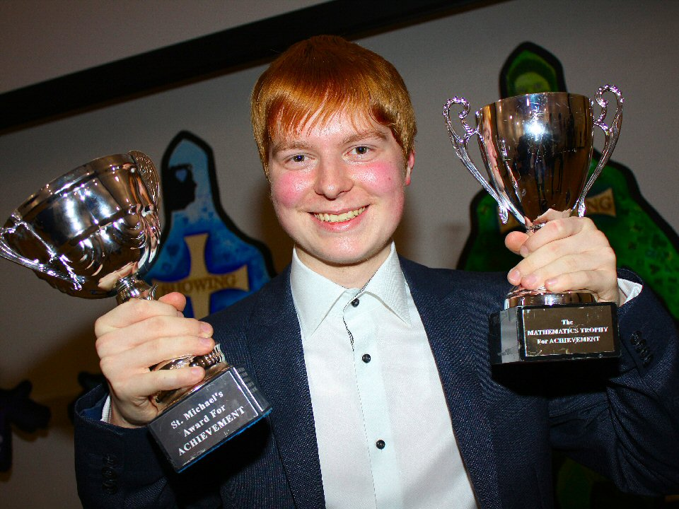 St Michael's Catholic Academy rewards its students for their achievements