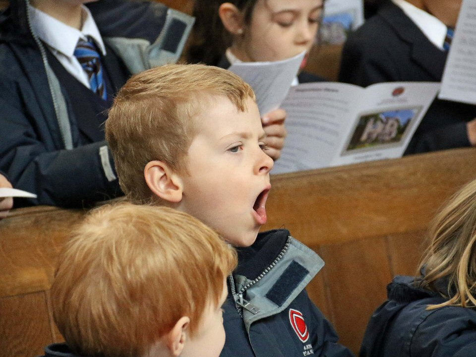 Barnard Castle School  celebrates its founding fathers at thanksgiving service
