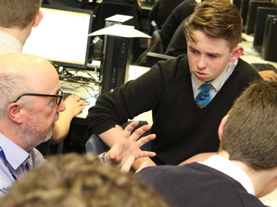 Richmond School and Sixth Form College students learn about the world of work