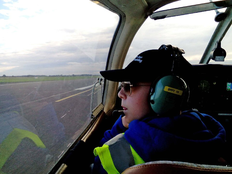 High flying Barnard Castle School student takes to the skies