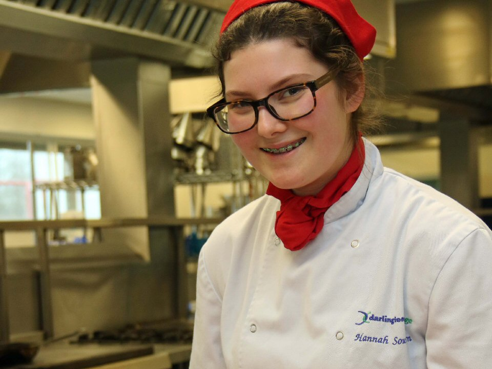 Darlington College student takes top honours at regional catering competition heat