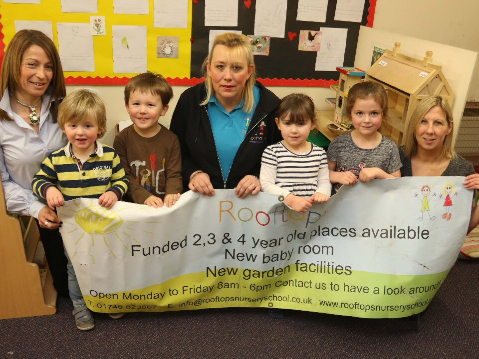 Rooftops Montessori Nursery in Richmond to offer extra funded childcare hours