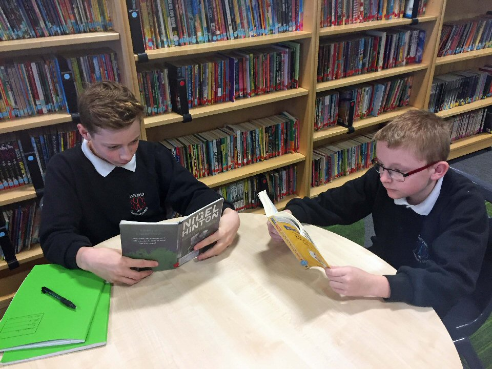 South Shields School is rolling out a literacy support programme for for Year 7 to 9 children with special educational needs and disabilities