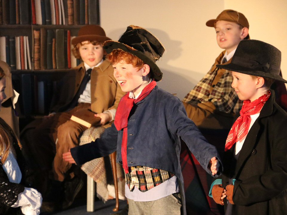Barnard Castle Preparatory School stage a two-night run and a matinee performance of Olivia!