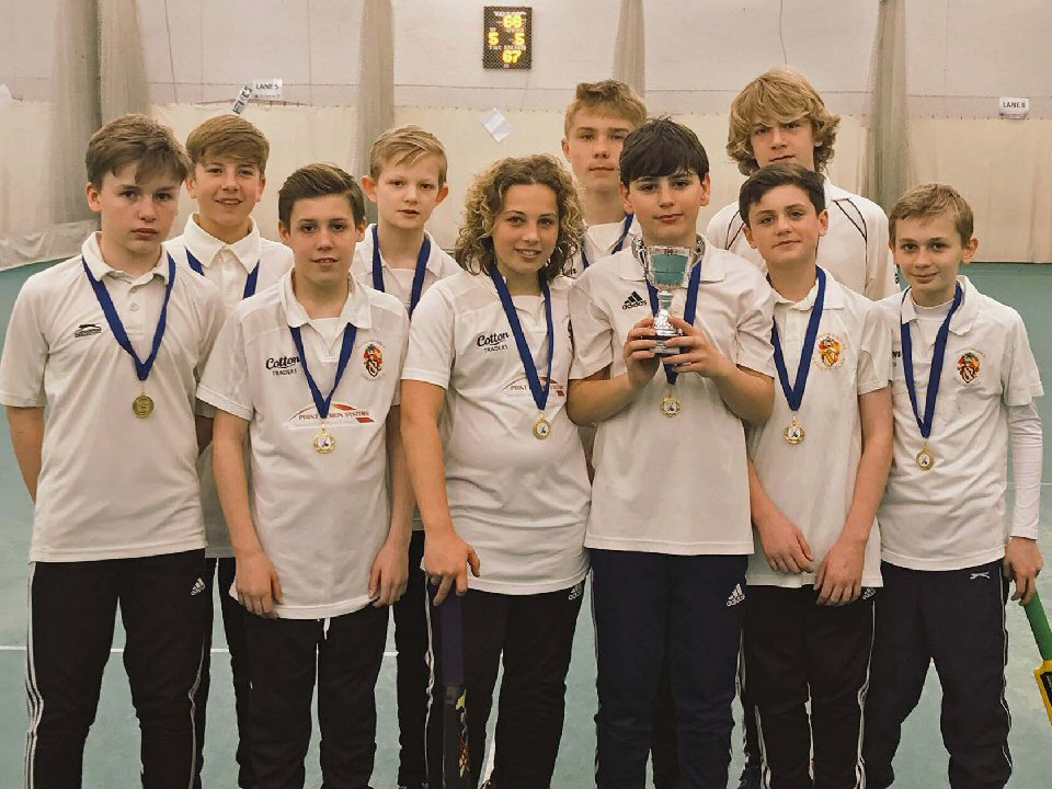 Richmond School Year 8s are crowned Yorkshire champions after dominating play at Headingly