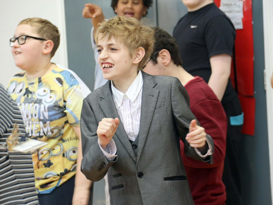 Beaumont Hill Academy, Darlington, staged a two-hour dancathon to raise funds for Comic Relief