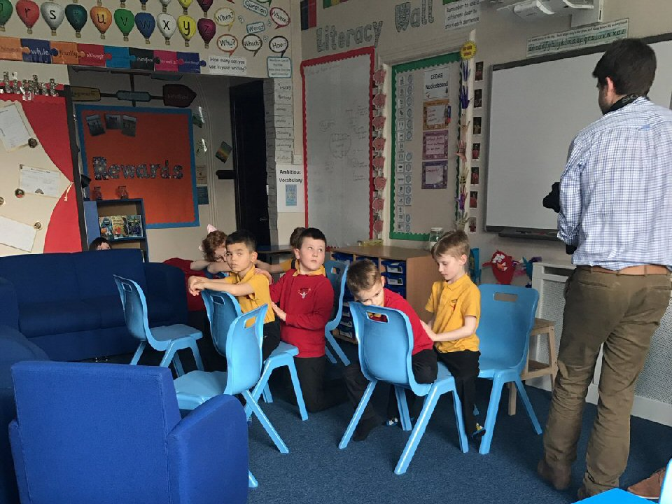 Pupils at Marchbank Free School, Darlington, were chosen to be filmed for an on-line video to help promote some of the best free schools in the country