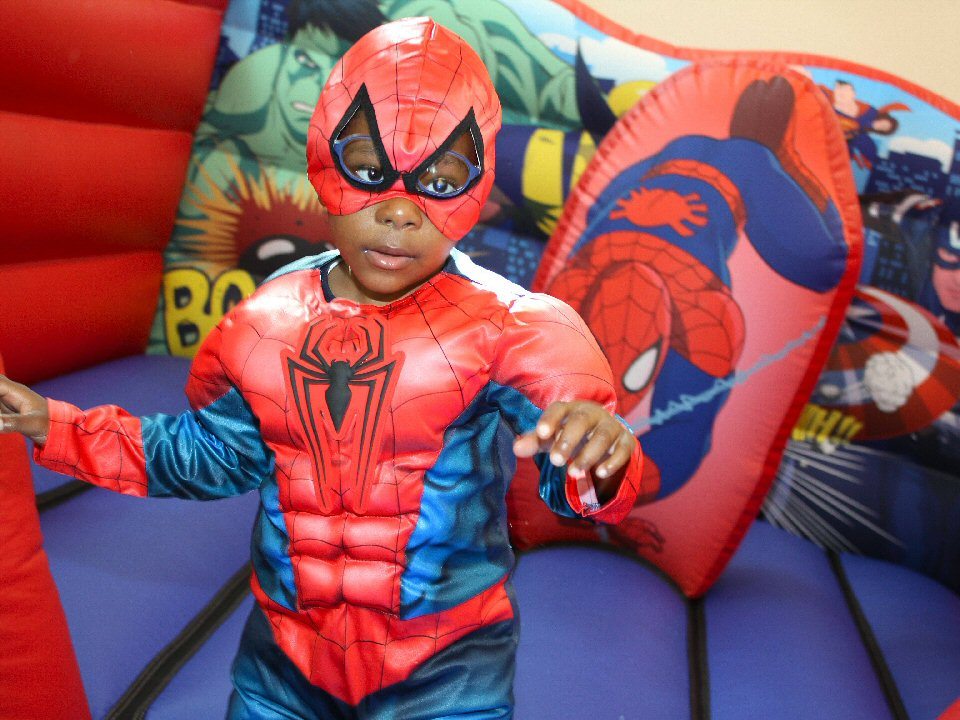 Avengers assembled at Ash Trees Academy as pupils celebrated superhero day