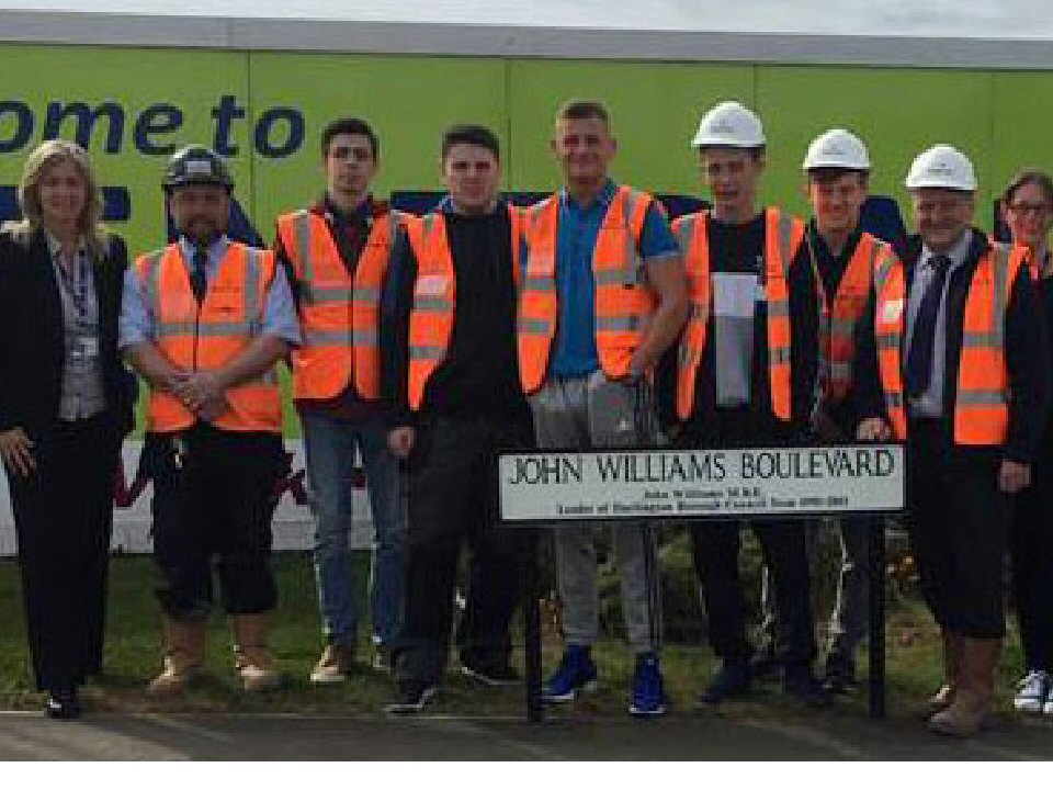 Darlington College teams up with Keepmoat Homes