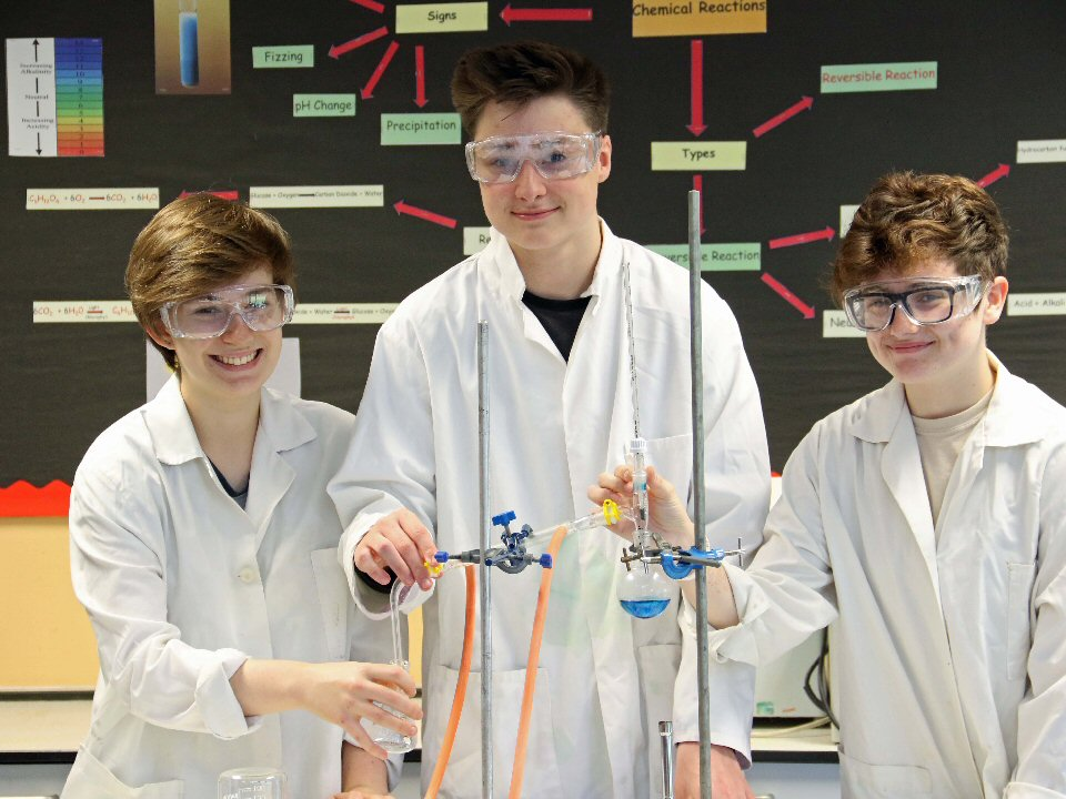 Richmond School and Sixth Form College competed on the national stage in the Royal Society of Chemistry's annual School Analyst Competition finals