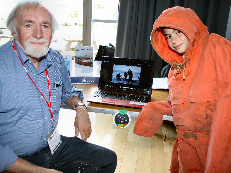 Pupils at Springfield Academy take part in science investigation day assisted by British Antarctic Survey polar explorer
