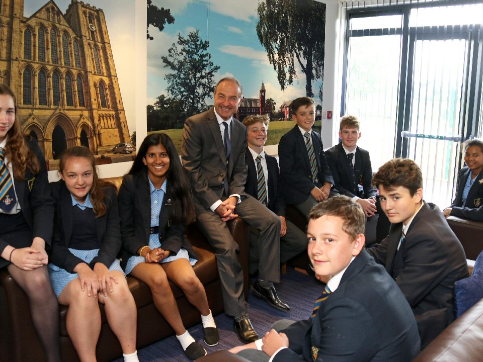 Ripon Grammar School is given top grading for boarding provision
