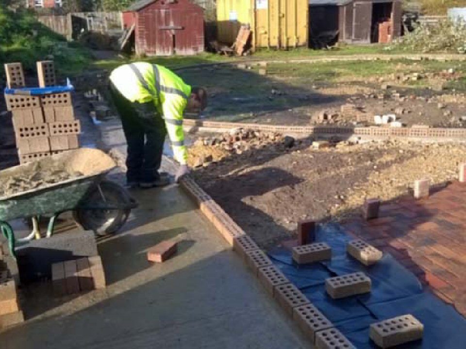 Trinity Academy students transform new outdoor learning area