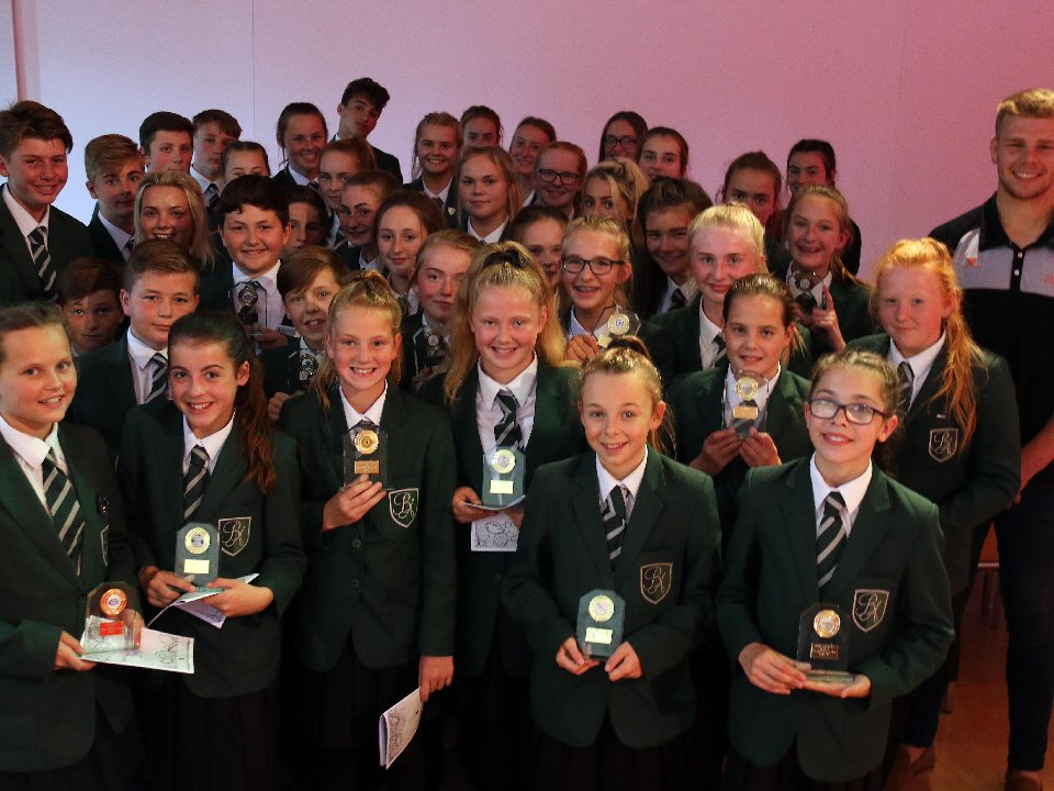 Bede Academy, in Blyth, recognises its top performers and players