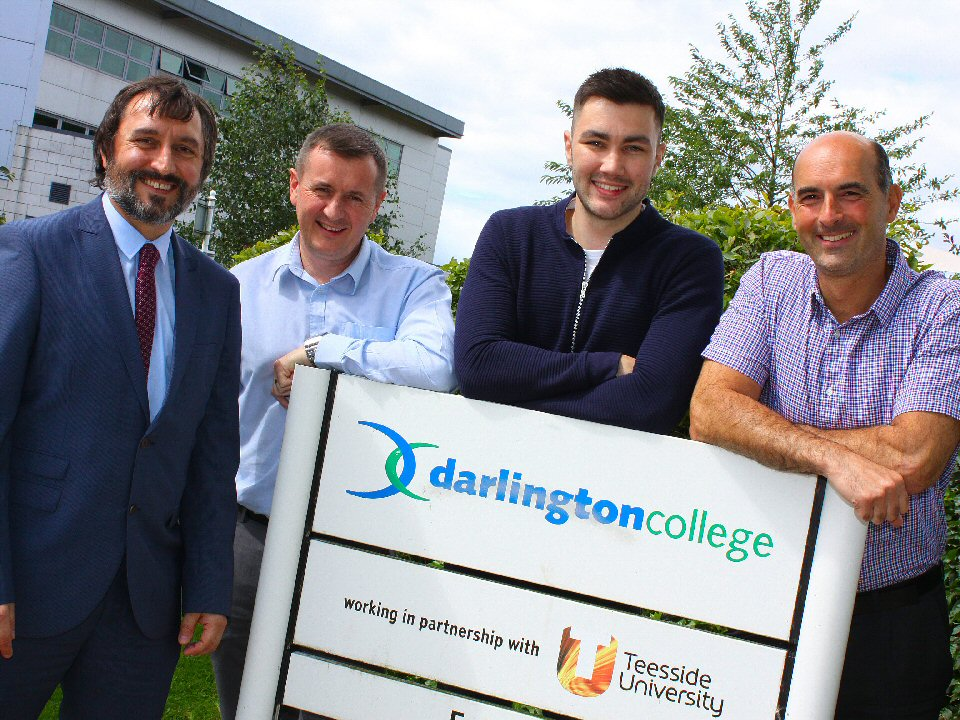 Darlington College provides bespoke collaboration between industry and education