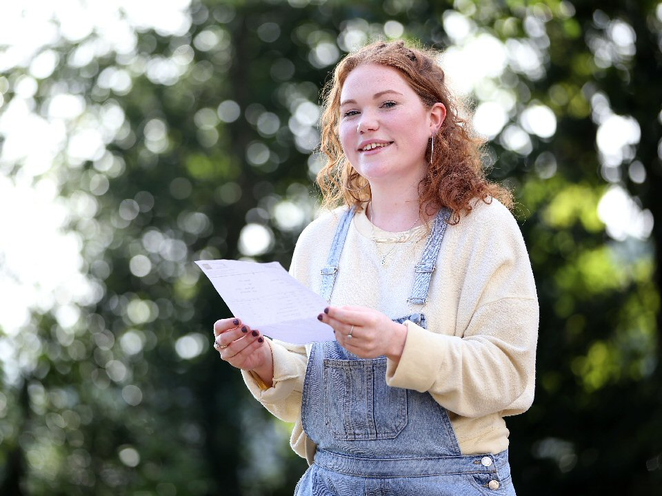 Carmel College student bounces back with top A Level results