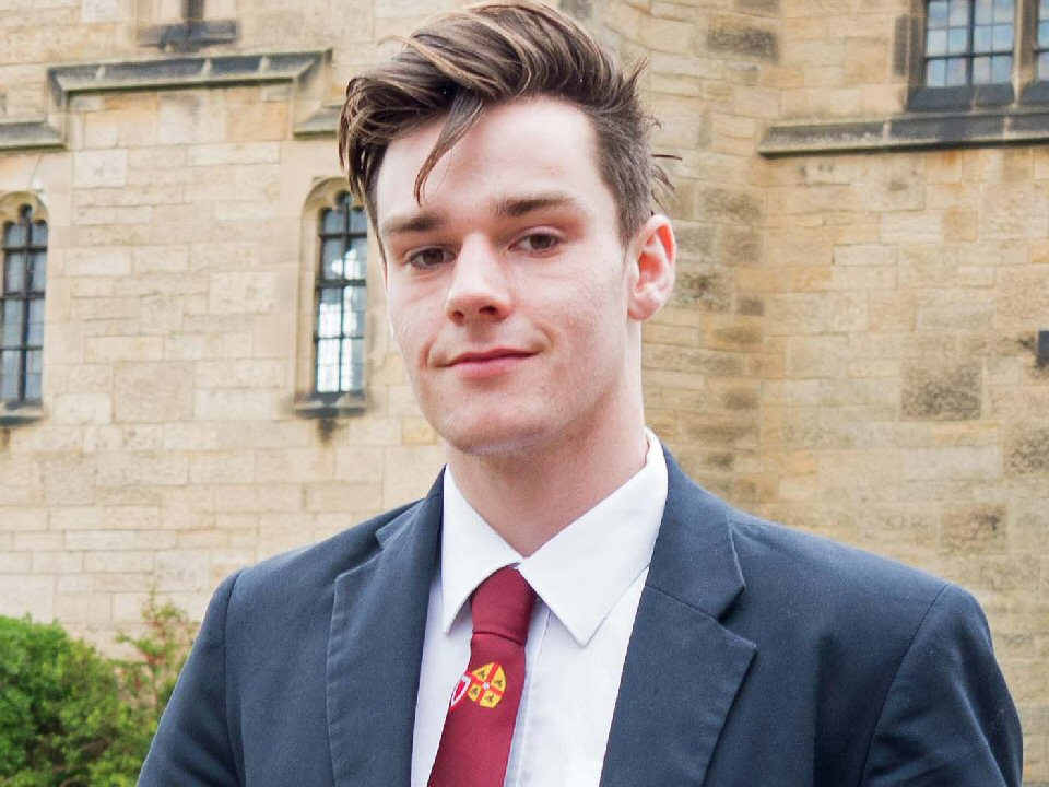 Country's top young chemist from Barnard Castle School celebrates