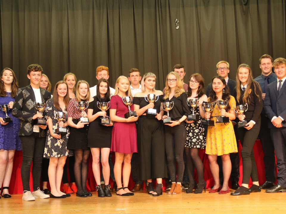 BBC journalist Owen Amos inspires pupils at annual prize-giving