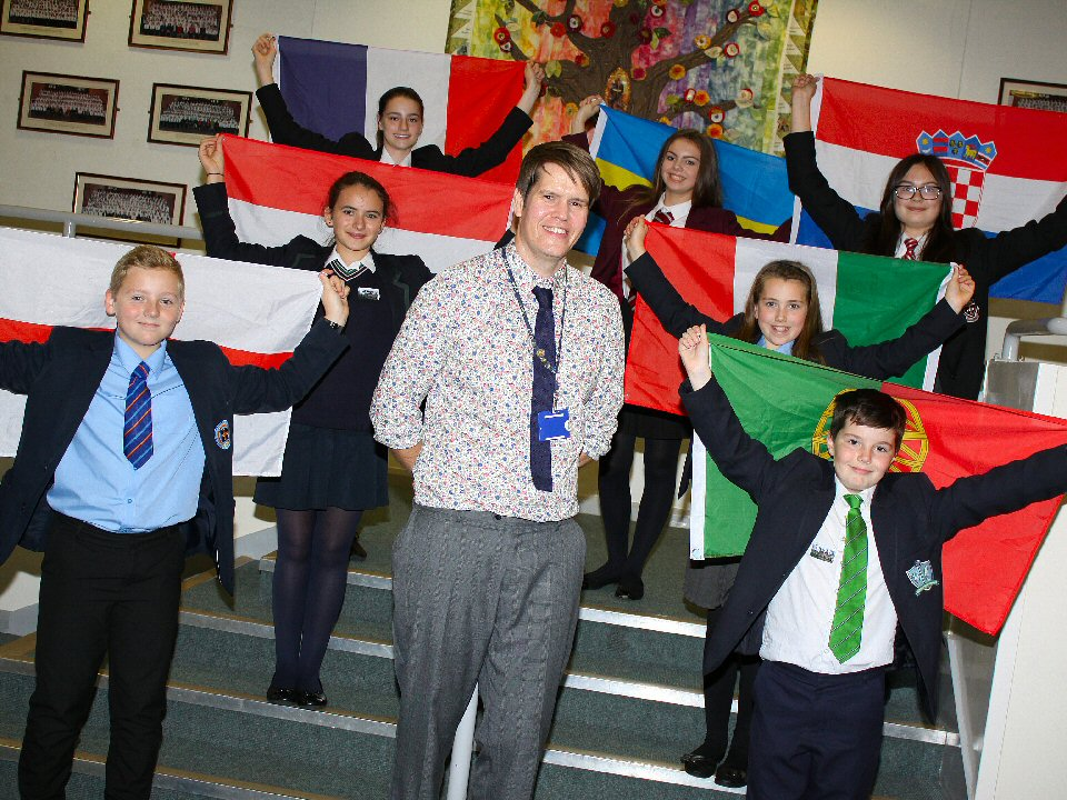 St John's School and Sixth Form College hosts European Day of Languages