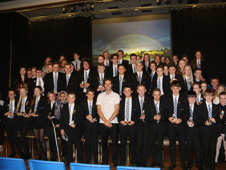 Pupils at Longfield Academy are inspired to reach their peak