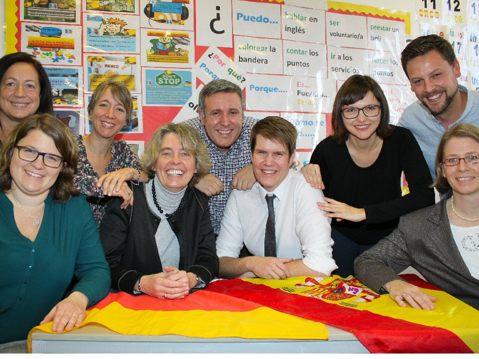 St John's School and Sixth Form College hosts Erasmus project