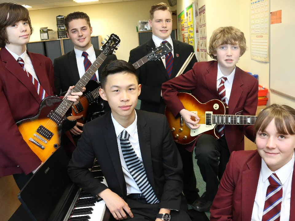 Trinity Academy pupils play at the Royal Albert Hall