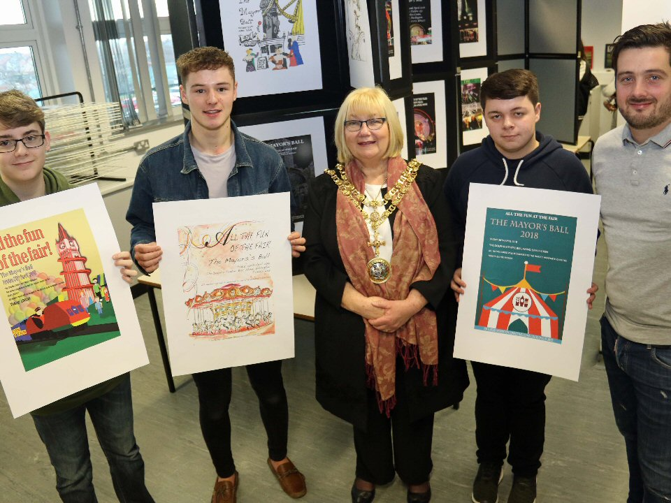 Darlington College student dazzles judges with his drawing skills