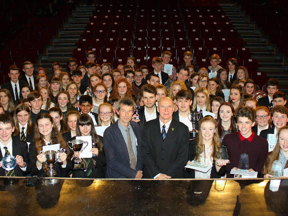 Students at Northallerton School and Sixth Form College celebrate