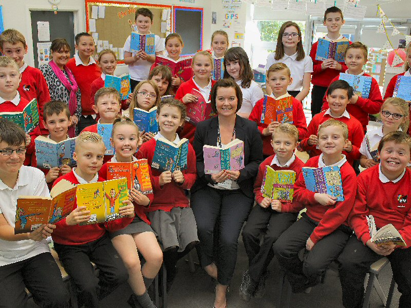 Pupils win Roald Dahl inspired competition