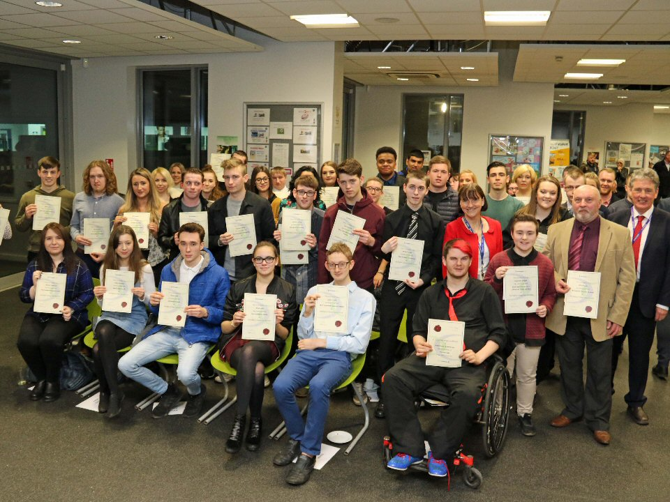 Darlington College holds annual awards ceremony