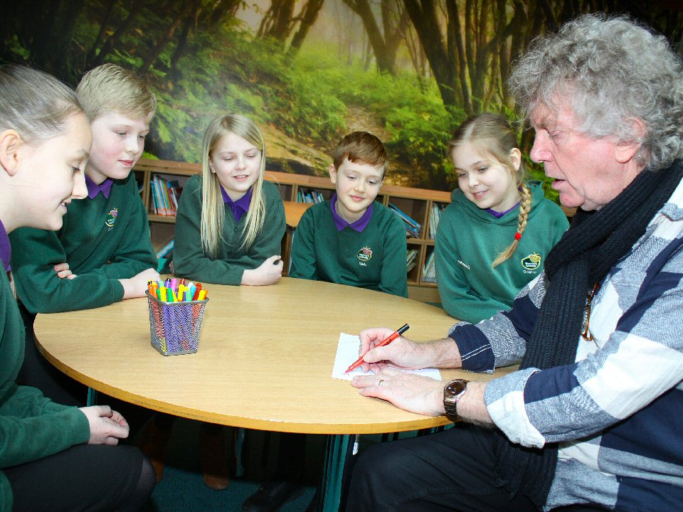 West Park Academy pupils enjoy creative storytelling sessions