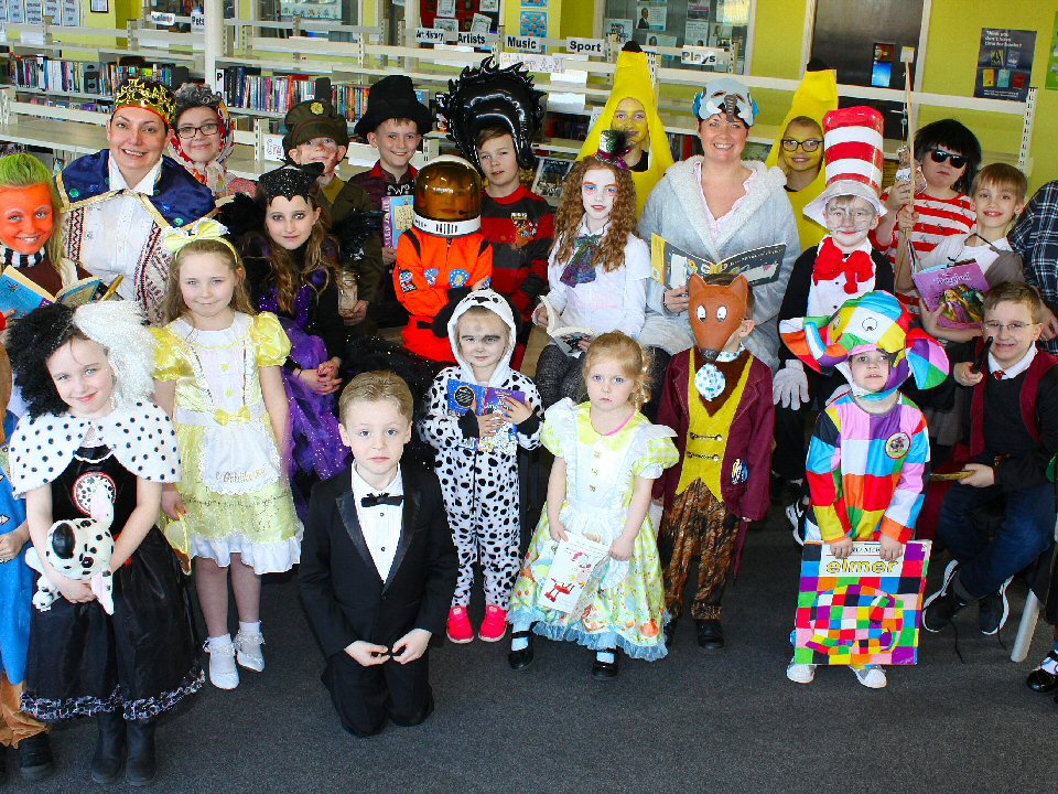 Springfield Academy pupils bring a love of literacy to life
