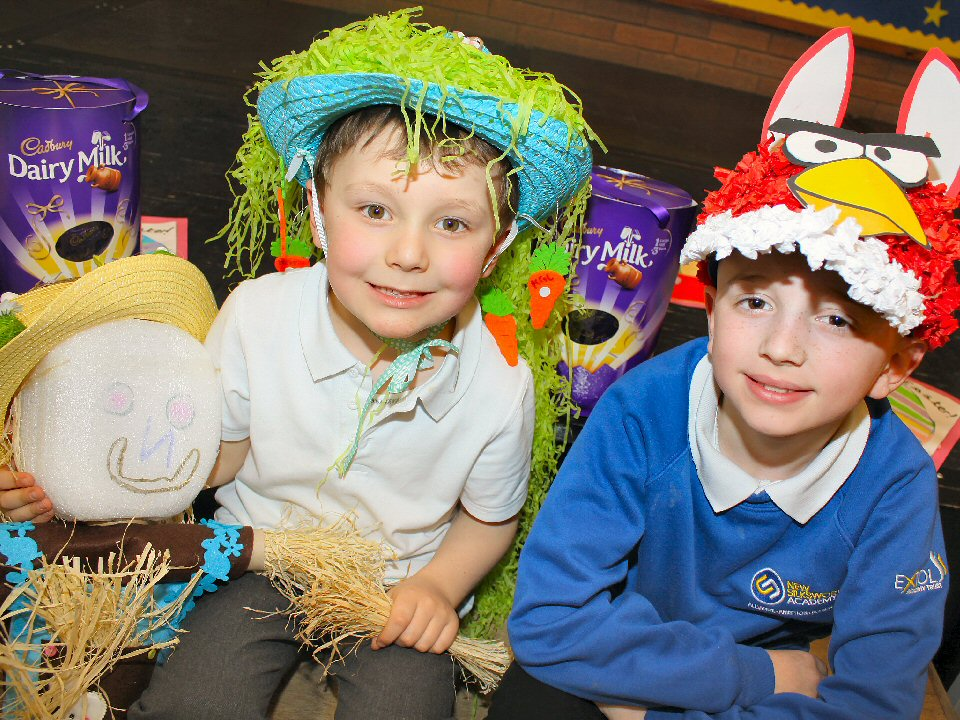 Children at New Silksworth Academy take part in Easter activities