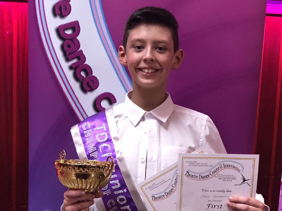 Stokesley School dancer chosen by CYD