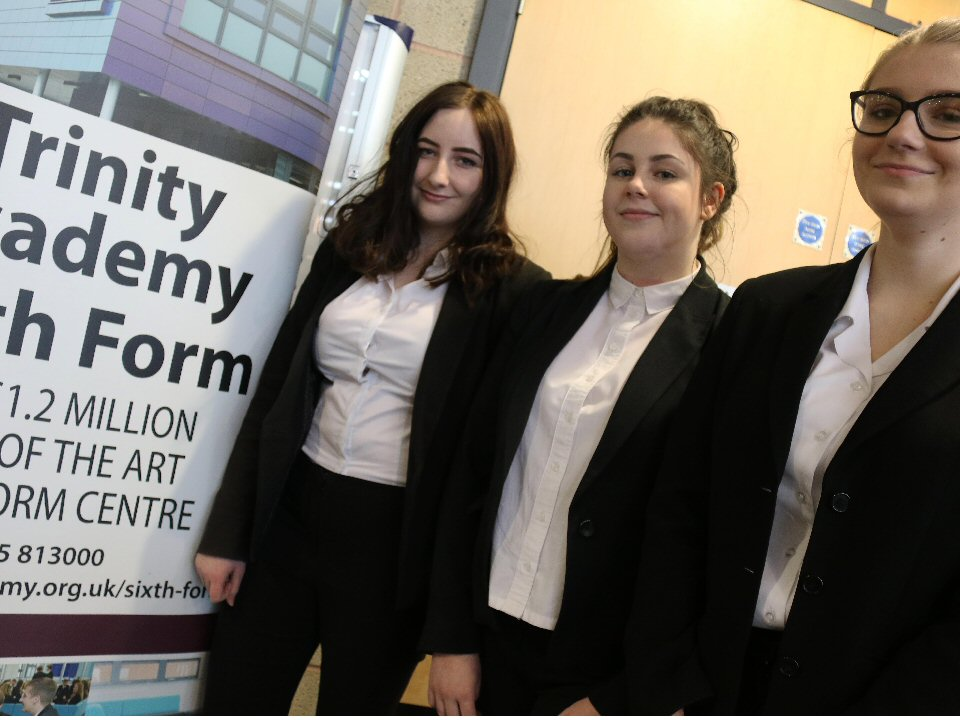 Trinity Academy pupils make caring career choices