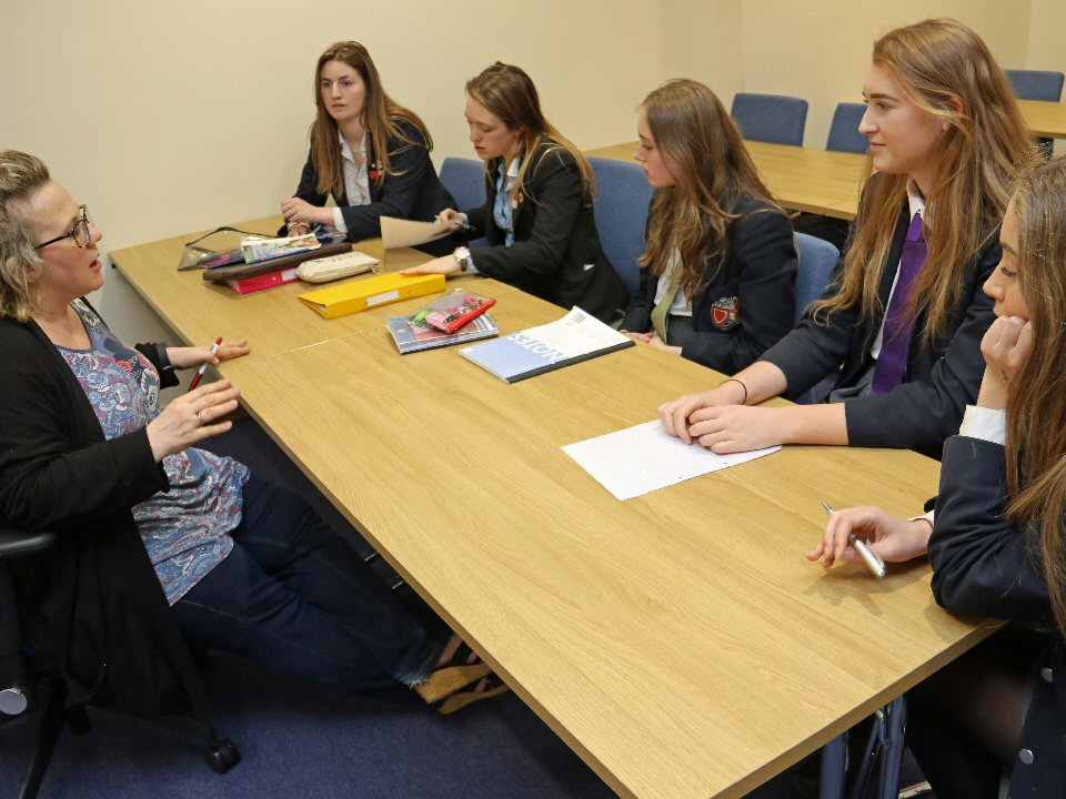 Students from Barnard Castle School receive expert help to fulfill career dreams