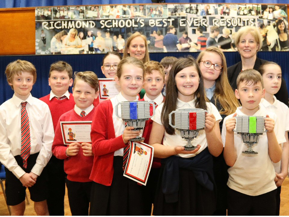 Richmond School and Sixth Form College played host to primary school children