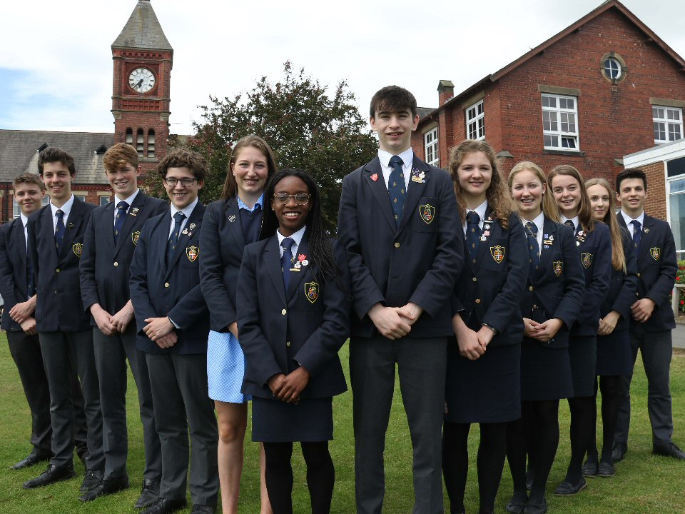 Ripon Grammar School student leaders appointed