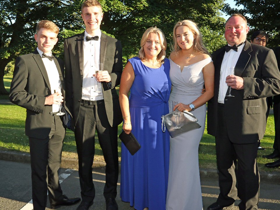 Barnard Castle School students have a ball to remember