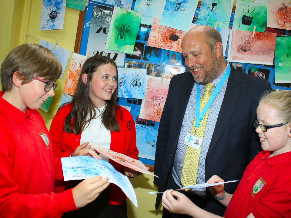 Northallerton School and Sixth Form College pupils are drawn to the 'big school' experience