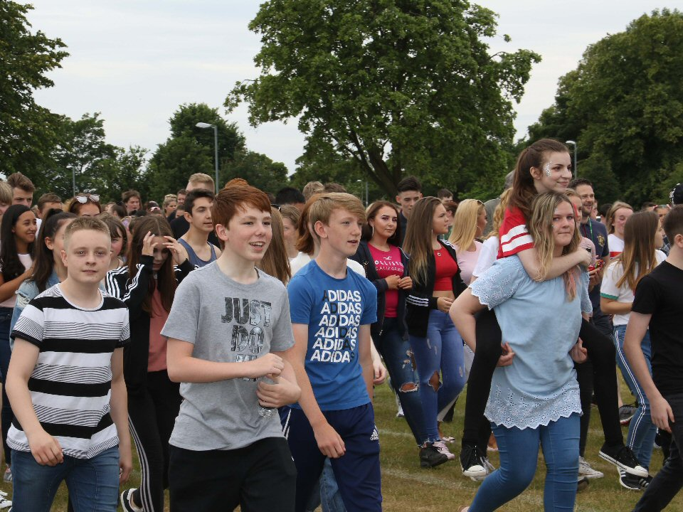 Haughton Academy raises £1,000 for Cancer Research UK