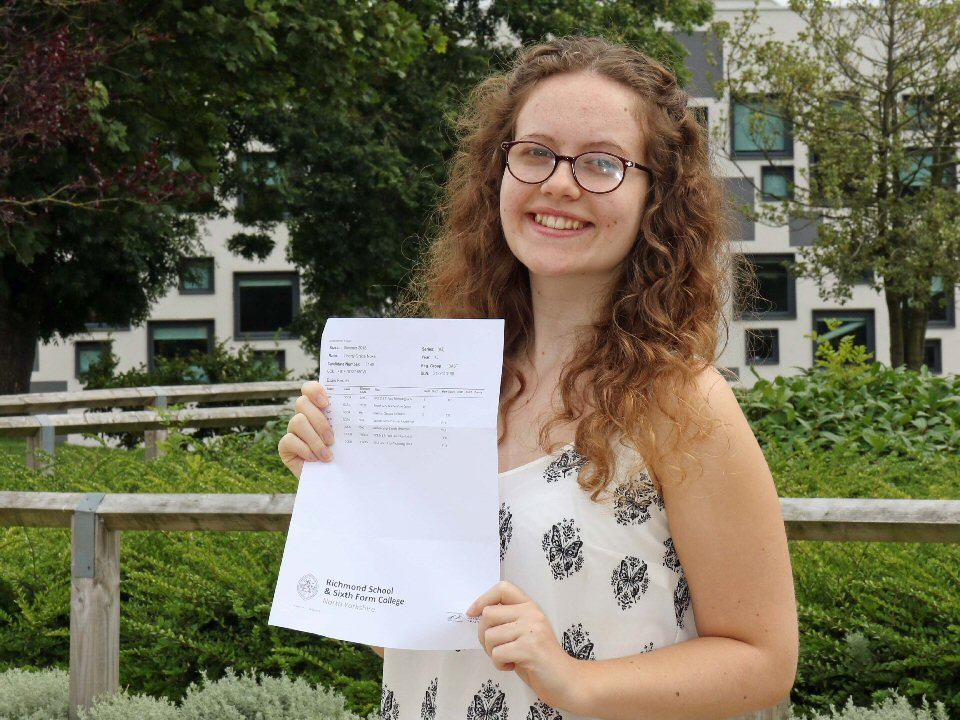Richmond School and Sixth Form College student secures place at Le Cordon Bleu