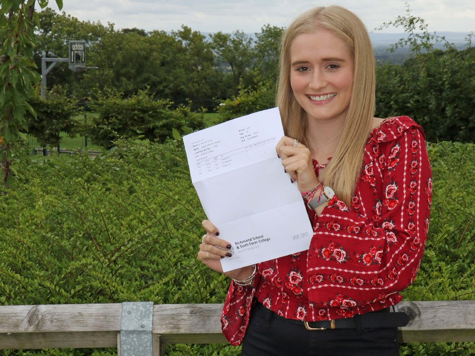 Richmond School and Sixth Form College student is headed for disaster