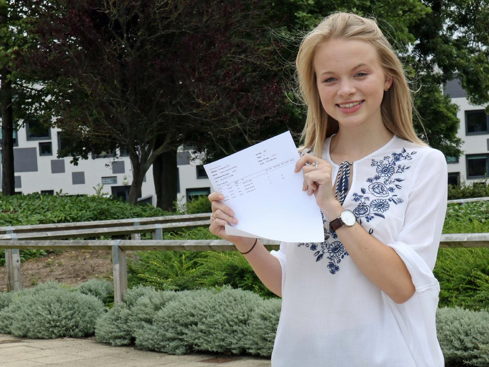 Richmond School and Sixth Form College student overcomes adversity to succeed