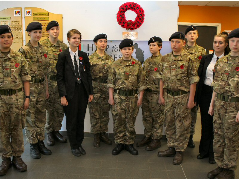 Remembrance Day service honours heroes