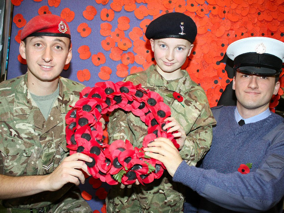 Haughton Academy holds service for WWI heroes