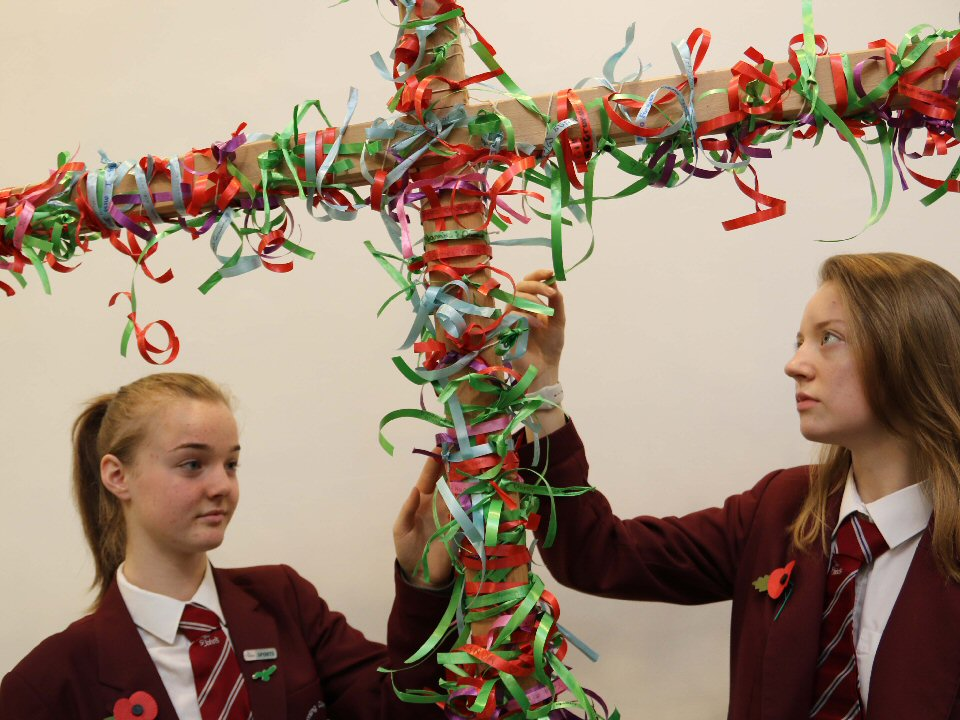 St John's School and Sixth Form mark the centenary of Armistice Day