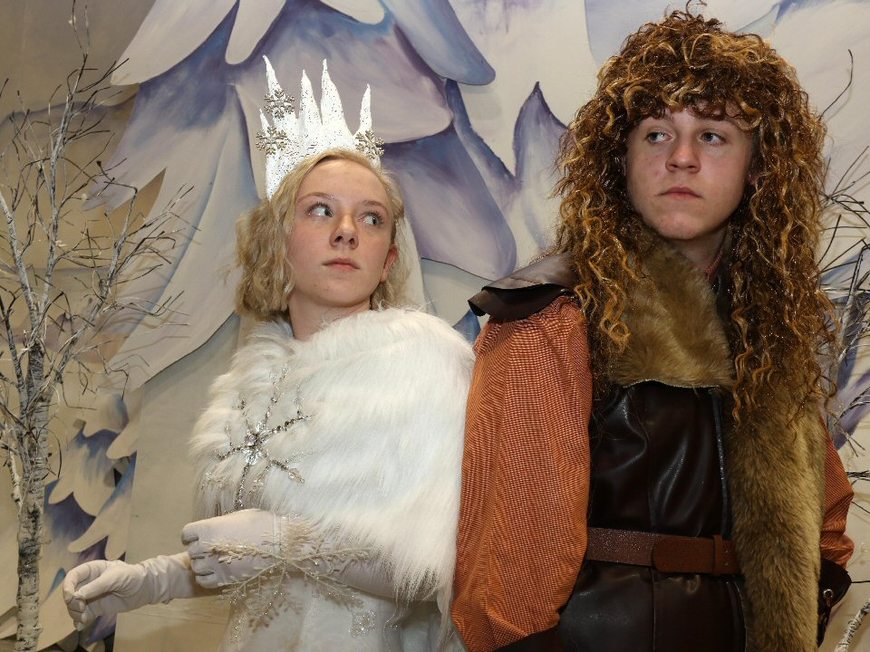 Actors at The King's Academy bring much-loved book to life